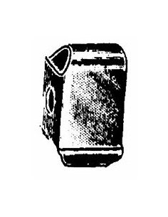 DISTANZIALE PARAURTI FIAT 500 TT 27.023 FAMAC