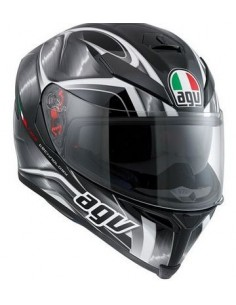 0cbbc1ffd2047 CASCO K-5 S HURRICANE BLACK GUNM. WHITE S PIN. AGV