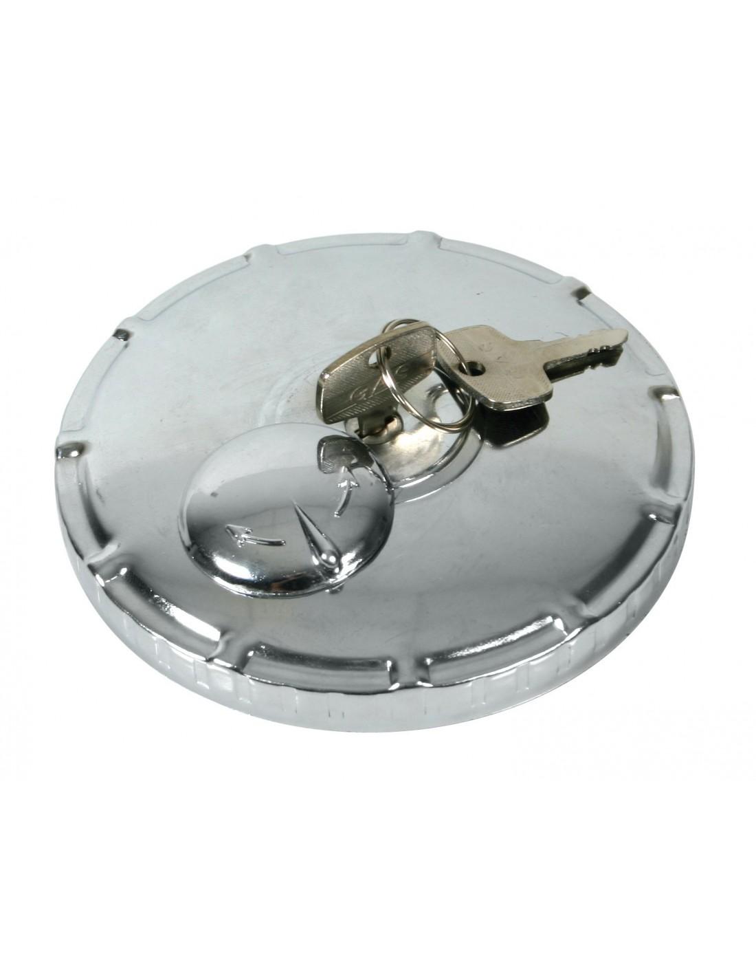Tappo del serbatoio del carburante tappo del serbatoio del carburante Coperchio di bloccaggio della benzina in ABS nero adatto per Maggiolino//Polo//Caddy con 2 chiavi